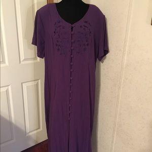 Fashion Bug Purple Dress Size 22/24W.